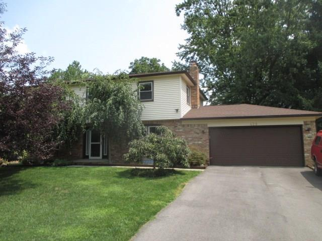 429 Lansdowne Road, Indianapolis, IN 46234 (MLS #21589391) :: The Evelo Team
