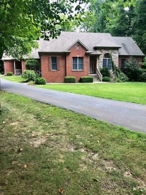 1332 S Oakridge Lane, Crawfordsville, IN 47933 (MLS #21589406) :: The Evelo Team