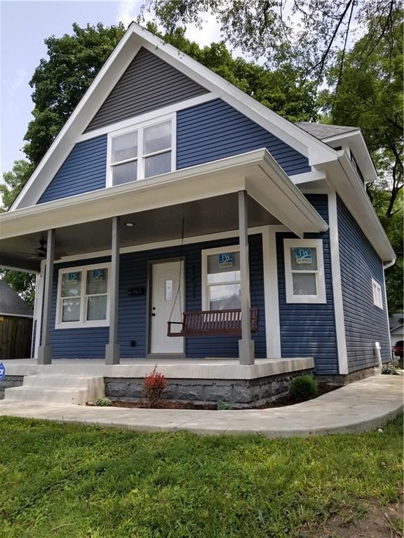1231 N Rural Street, Indianapolis, IN 46201 (MLS #21590683) :: FC Tucker Company