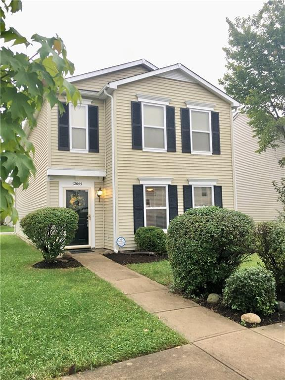 12645 Justice Crossing, Fishers, IN 46037 (MLS #21599050) :: Mike Price Realty Team - RE/MAX Centerstone