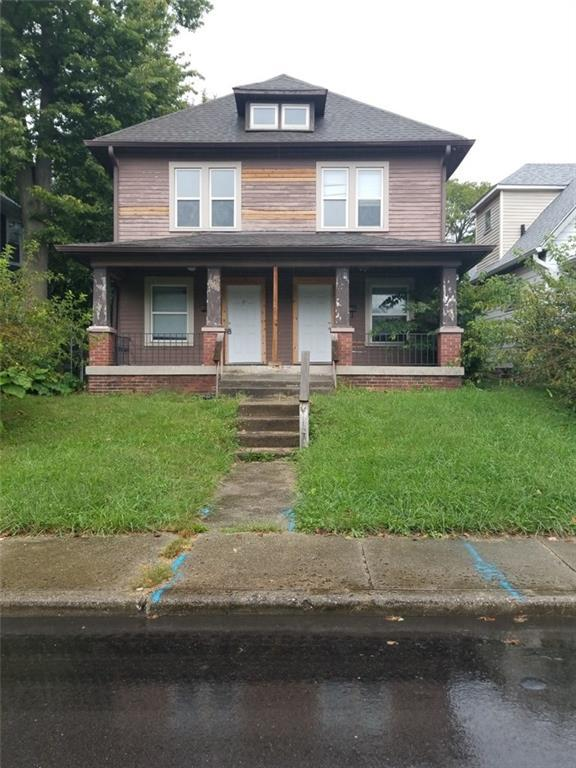 1221 N Oakland Avenue, Indianapolis, IN 46201 (MLS #21599640) :: Indy Scene Real Estate Team