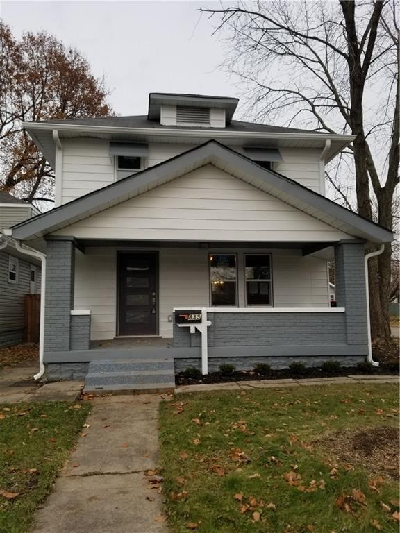 835 N Bosart Avenue, Indianapolis, IN 46201 (MLS #21609393) :: Mike Price Realty Team - RE/MAX Centerstone