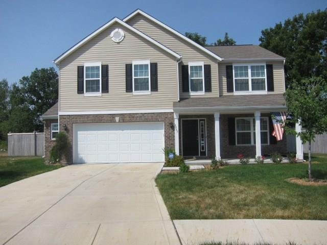 8265 Shute Circle, Avon, IN 46123 (MLS #21610882) :: The Indy Property Source