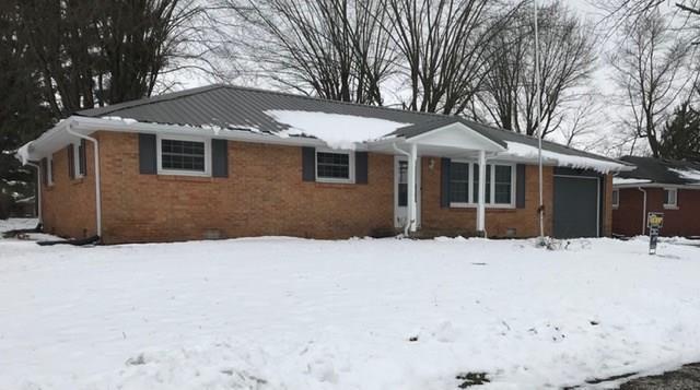 707 W Van Buren Street, Alexandria, IN 46001 (MLS #21615122) :: The ORR Home Selling Team