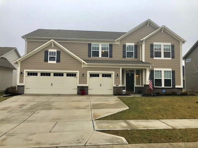 4155 Ginkgo Court, Danville, IN 46122 (MLS #21618200) :: The Indy Property Source