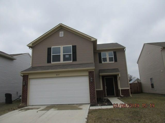8117 Whistlewood Drive, Indianapolis, IN 46239 (MLS #21628281) :: FC Tucker Company