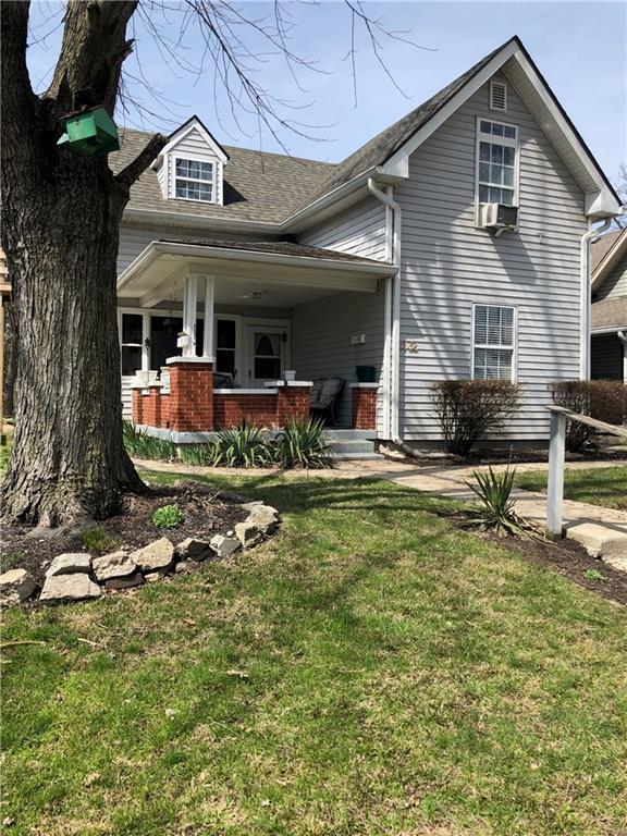 2132 Bellefontaine Street, Indianapolis, IN 46202 (MLS #21628793) :: The Evelo Team