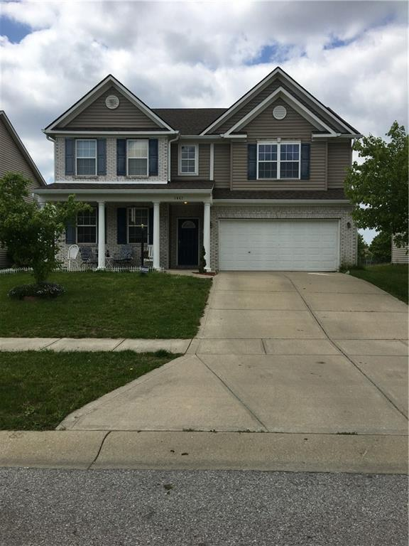 1642 Juniper Lane, Greenwood, IN 46143 (MLS #21640236) :: Richwine Elite Group