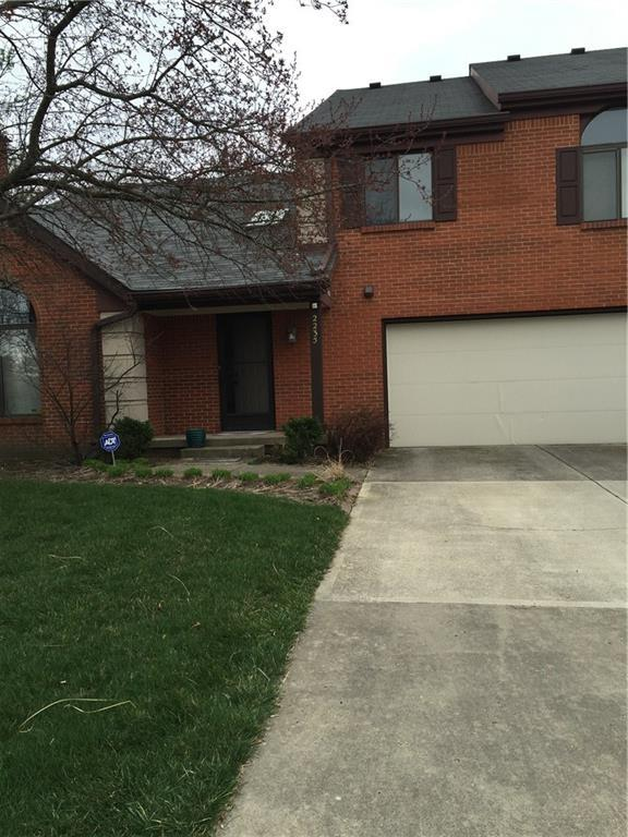 2235 N Golden Oaks North Drive, Indianapolis, IN 46260 (MLS #21640350) :: The Indy Property Source
