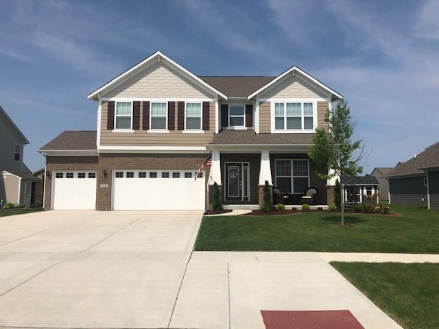 1410 Trailside Drive, Greenwood, IN 46143 (MLS #21641505) :: Heard Real Estate Team | eXp Realty, LLC