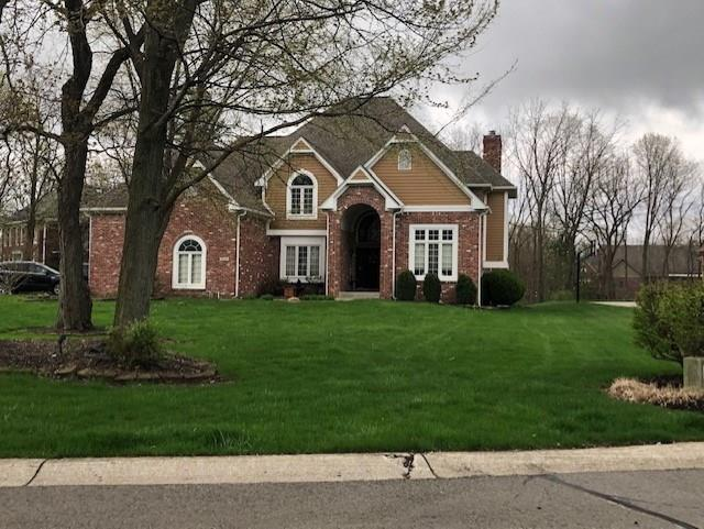 10346 Treeline Ct N Circle, Fishers, IN 46037 (MLS #21641570) :: The Indy Property Source