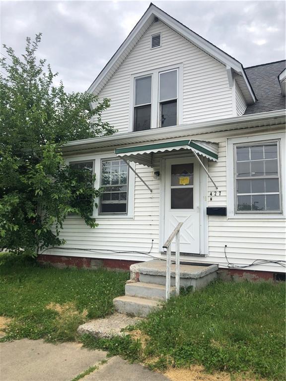 419 S Miller Street, Shelbyville, IN 46176 (MLS #21645722) :: David Brenton's Team