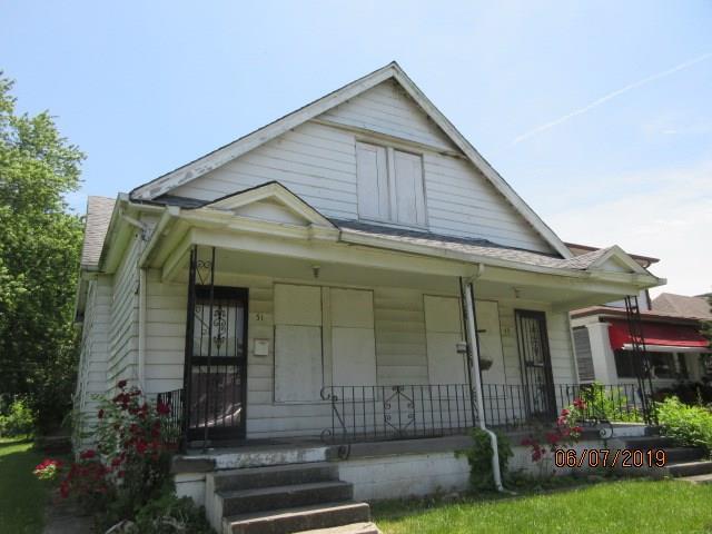 49 N Grant Avenue, Indianapolis, IN 46201 (MLS #21646004) :: David Brenton's Team