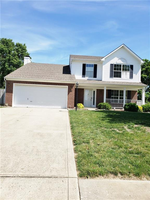 3834 Cherry Blossom Boulevard, Indianapolis, IN 46237 (MLS #21647278) :: Mike Price Realty Team - RE/MAX Centerstone