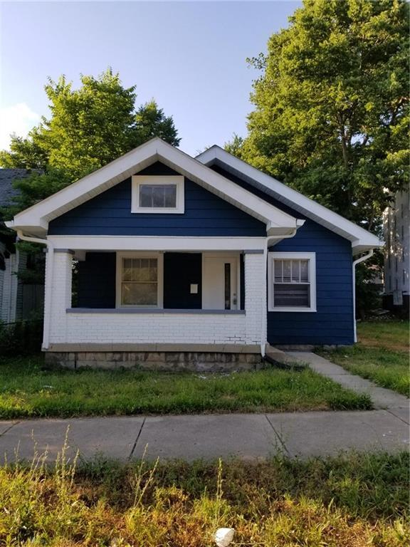332 W 26th Street, Indianapolis, IN 46208 (MLS #21651122) :: Mike Price Realty Team - RE/MAX Centerstone