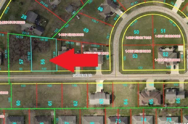 Lot 56 Katriene Drive, Daleville, IN 47334 (MLS #21651286) :: The ORR Home Selling Team