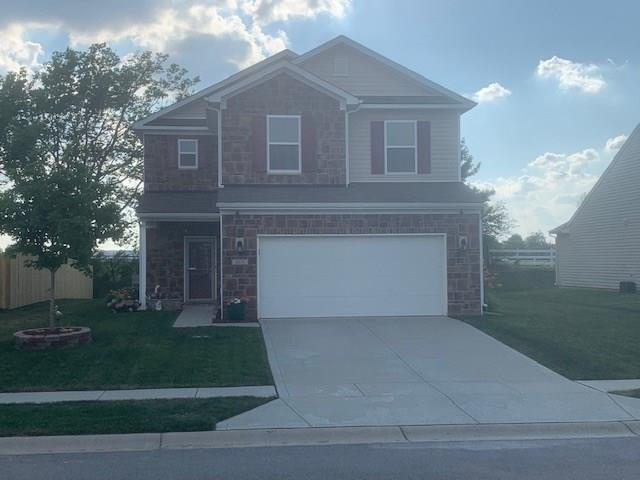 4018 Poplar Drive, Whitestown, IN 46075 (MLS #21652470) :: Mike Price Realty Team - RE/MAX Centerstone