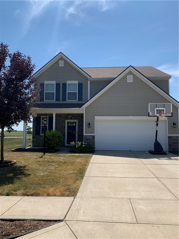 15464 Old Pond Circle, Noblesville, IN 46060 (MLS #21654442) :: The Indy Property Source