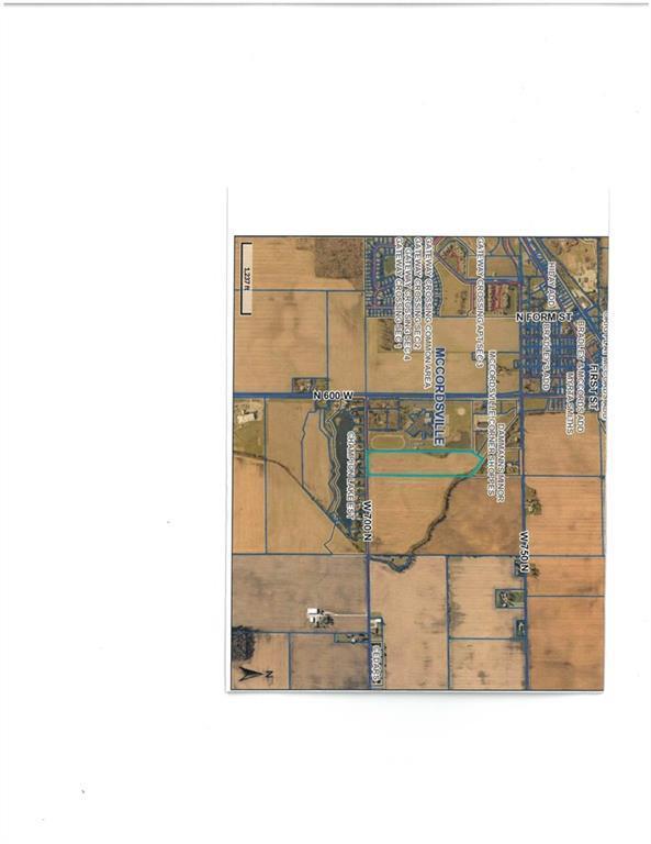 0 N 600 West, Mccordsville, IN 46055 (MLS #21656396) :: The Evelo Team