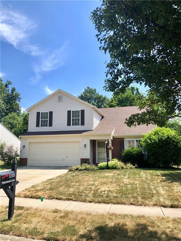 12101 Princewood Court, Fishers, IN 46037 (MLS #21659767) :: Mike Price Realty Team - RE/MAX Centerstone