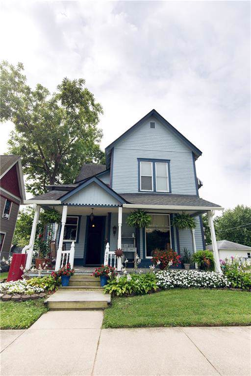 433 W Main Street, Greenfield, IN 46140 (MLS #21666758) :: HergGroup Indianapolis