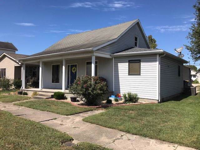 409 E 2nd St., Seymour, IN 47274 (MLS #21668344) :: The Indy Property Source