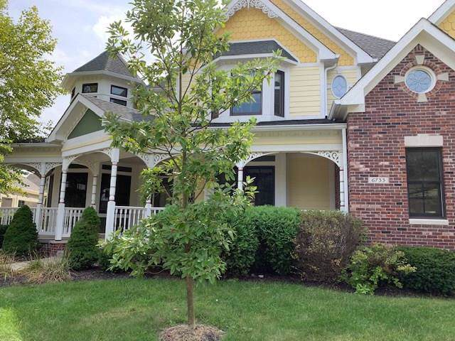 6733 Beekman Place W, Zionsville, IN 46077 (MLS #21670086) :: The Indy Property Source