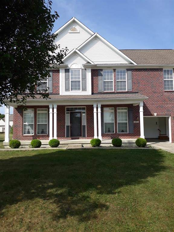 908 S Raylee Garden Drive, New Palestine, IN 46163 (MLS #21670280) :: The Indy Property Source