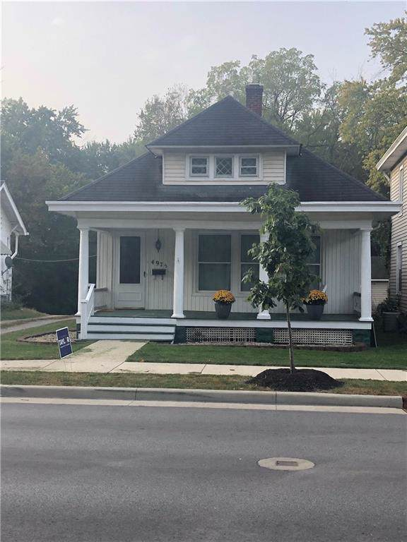 497 1/2 W Jefferson Street, Franklin, IN 46131 (MLS #21674442) :: Mike Price Realty Team - RE/MAX Centerstone