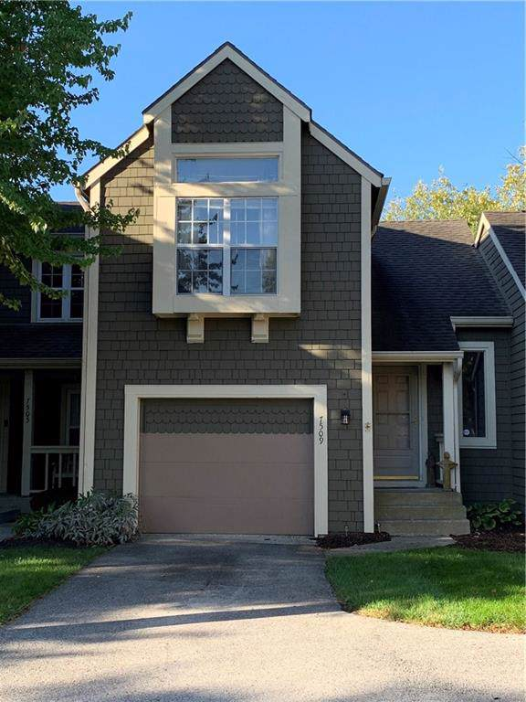7509 Chatterton Drive, Indianapolis, IN 46254 (MLS #21674917) :: The Indy Property Source