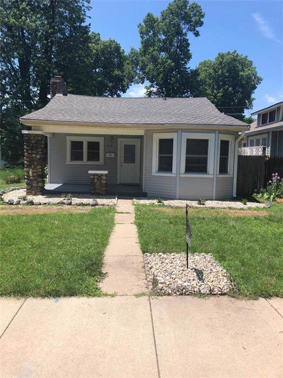 4616 Guilford Avenue, Indianapolis, IN 46205 (MLS #21681889) :: AR/haus Group Realty