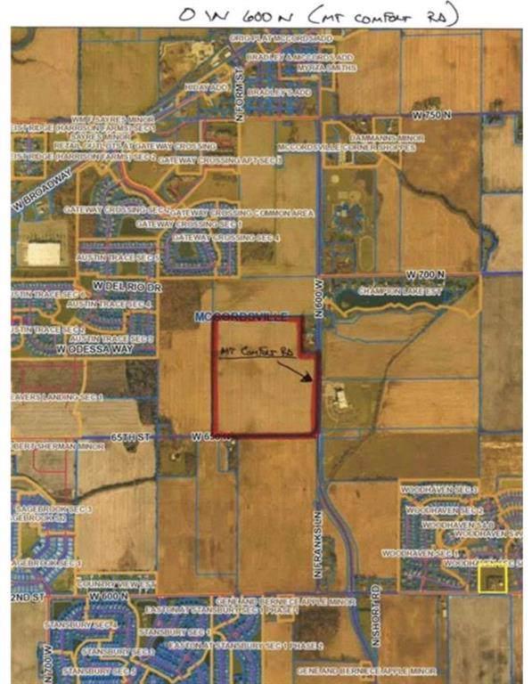 0 W 600 N, Mccordsville, IN 46055 (MLS #21684536) :: The Evelo Team