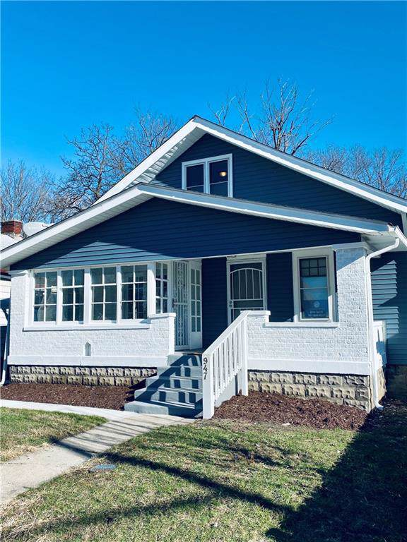 947 N Ewing Street, Indianapolis, IN 46201 (MLS #21685001) :: Heard Real Estate Team | eXp Realty, LLC