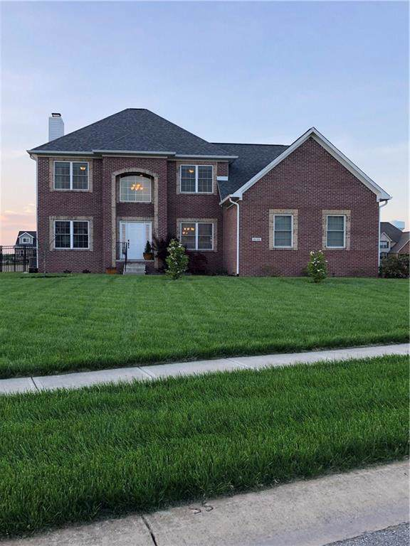 6124 W Kaitlin Road, New Palestine, IN 46163 (MLS #21685348) :: The Indy Property Source