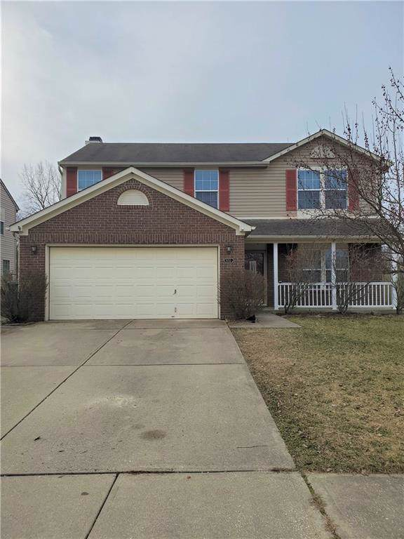 9155 Robey Meadows Lane, Indianapolis, IN 46234 (MLS #21690805) :: HergGroup Indianapolis