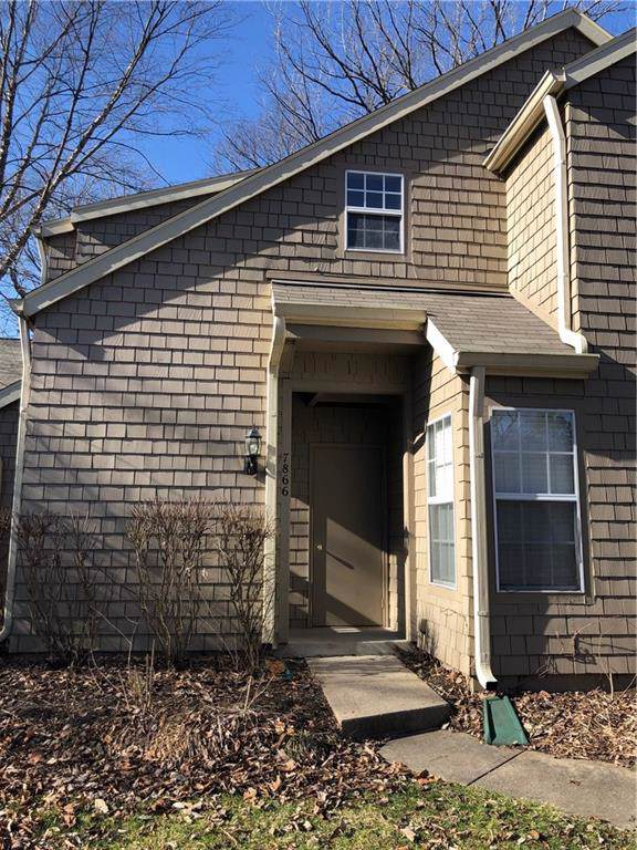 7866 Harbour Isle #10, Indianapolis, IN 46240 (MLS #21692634) :: Mike Price Realty Team - RE/MAX Centerstone