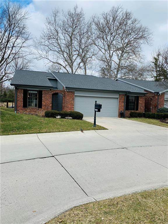 8555 Quail Hollow Road, Indianapolis, IN 46260 (MLS #21696143) :: Mike Price Realty Team - RE/MAX Centerstone