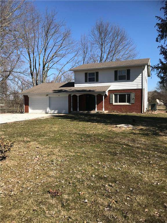151 S County Road 300 E, Danville, IN 46122 (MLS #21699030) :: The Indy Property Source
