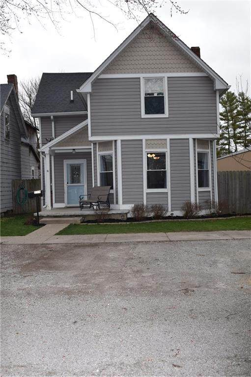 219 E Bow Street, Thorntown, IN 46071 (MLS #21703114) :: The ORR Home Selling Team