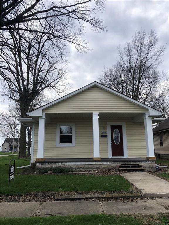 1419 S 21st Street, New Castle, IN 47362 (MLS #21703937) :: Mike Price Realty Team - RE/MAX Centerstone