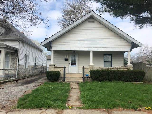 1020 S Pershing Avenue, Indianapolis, IN 46221 (MLS #21704058) :: The Indy Property Source