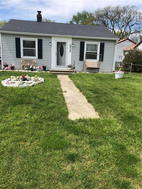 2908 Westbrook Avenue, Indianapolis, IN 46241 (MLS #21706921) :: The ORR Home Selling Team