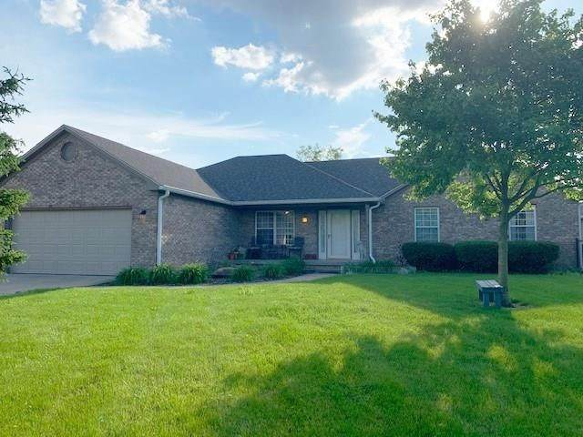 3898 S 600 West, New Palestine, IN 46163 (MLS #21707695) :: The Indy Property Source