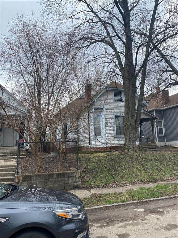 1117 Larch Street, Indianapolis, IN 46201 (MLS #21711999) :: The Indy Property Source