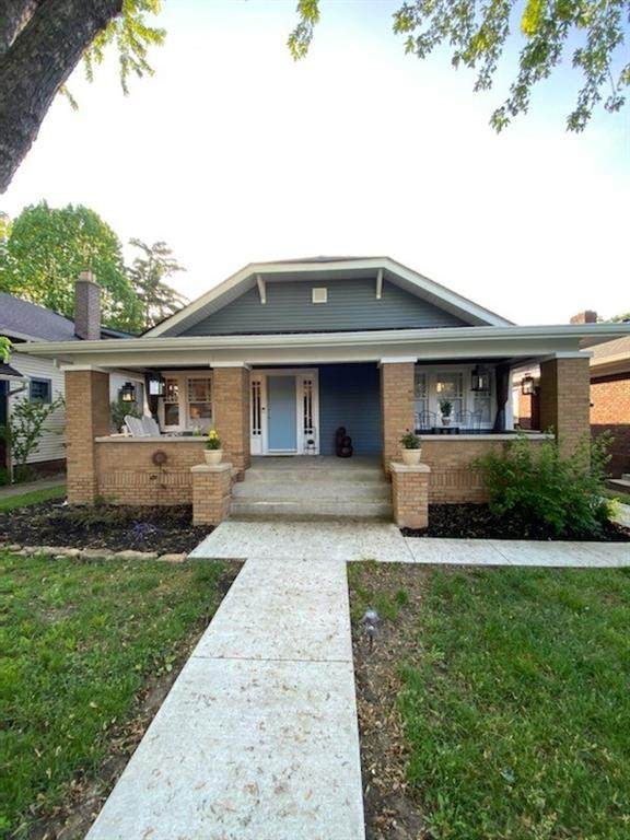 737 N Bancroft Street, Indianapolis, IN 46201 (MLS #21712575) :: The Evelo Team