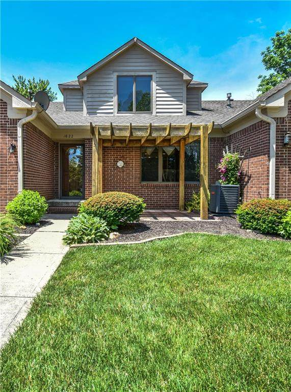 1622 Library Boulevard, Greenwood, IN 46142 (MLS #21716454) :: Mike Price Realty Team - RE/MAX Centerstone