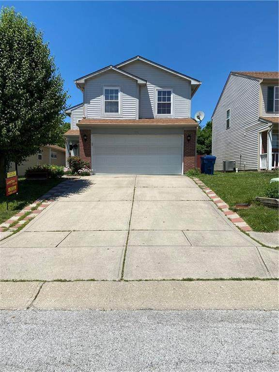536 Meadows Edge Lane, Indianapolis, IN 46217 (MLS #21716737) :: Anthony Robinson & AMR Real Estate Group LLC