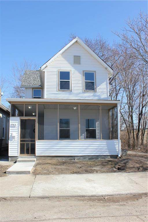 943 Church Street, Indianapolis, IN 46225 (MLS #21716987) :: Mike Price Realty Team - RE/MAX Centerstone