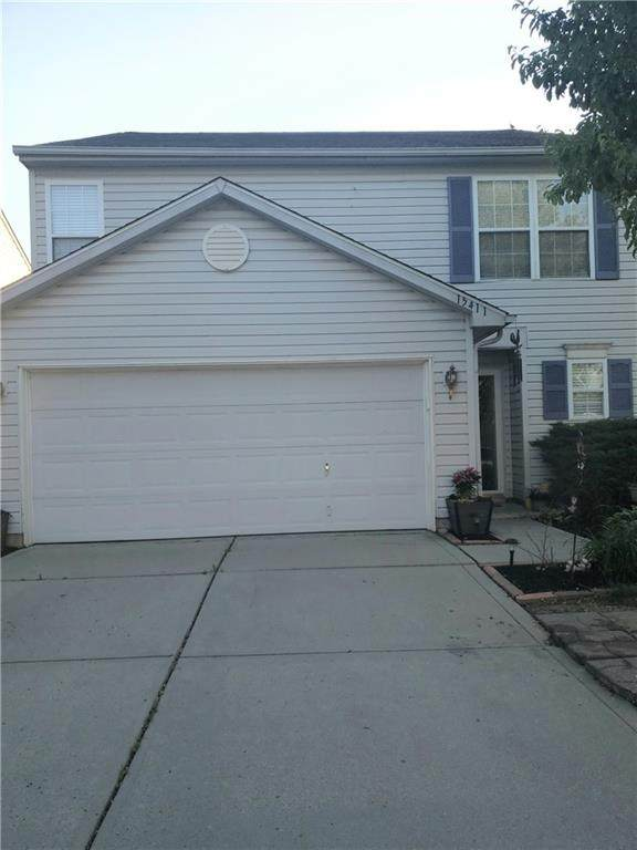 15411 Wandering Way, Noblesville, IN 46060 (MLS #21718525) :: The Indy Property Source