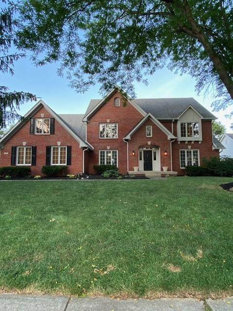 832 Spruce Drive, Carmel, IN 46033 (MLS #21721923) :: The Indy Property Source